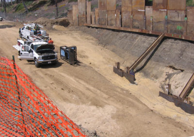 Large-Scale Remedial Excavation Adjacent to Freeways of Former Printing Plant