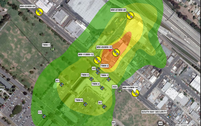 Site Assessment, Remediation, Fate & Transport Analysis, and Vapor Intrusion Analysis Associated with a VOC Plume