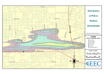 Groundwater Investigation and GIS Development